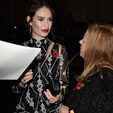 OIC - ENTSIMAGES.COM - Lily James at the Harper's Bazaar Women of the Year Awards in London  3rd  November 2015 Photo Mobis Photos/OIC 0203 174 1069