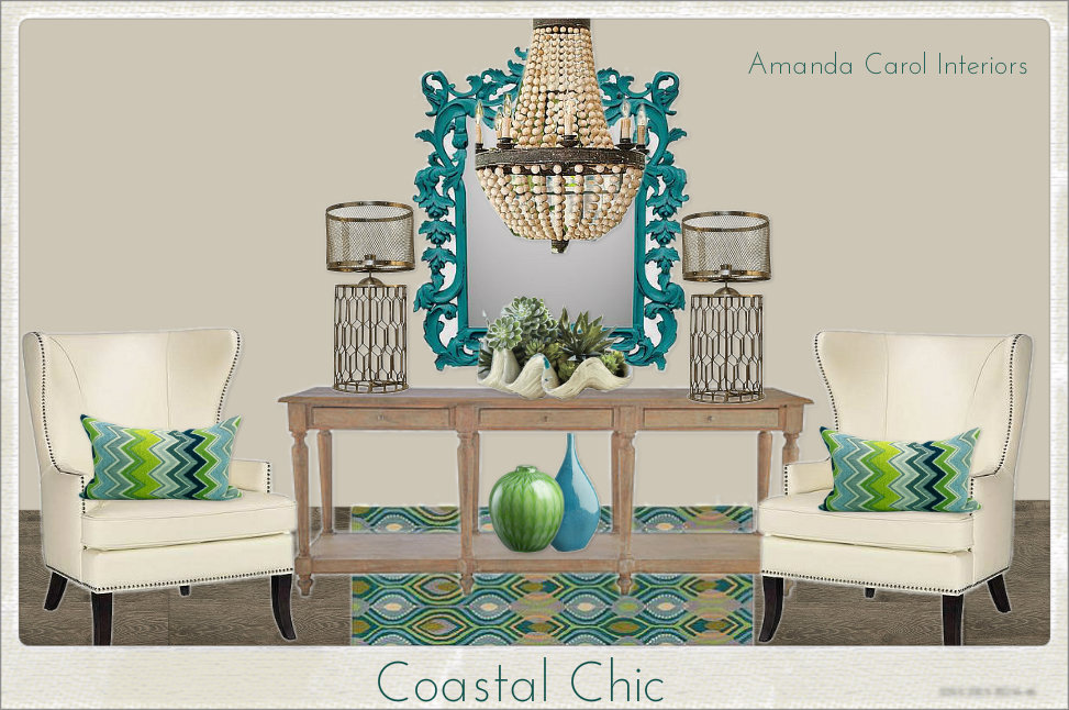 Coastal Chic Entry and Outdoor Extravaganza