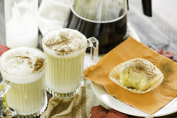 Latte Macchiato cupcake flavor.