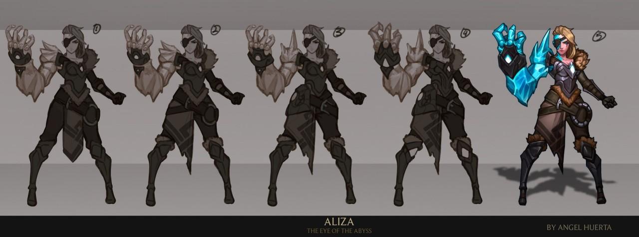 Tạo hình Aliza giống Vi