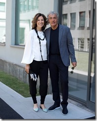 Roberta Armani and Massimo Giletti_By SGP