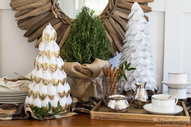 DIY-christmas-tree-plastic-spoon-craft-heatherednest.com-3