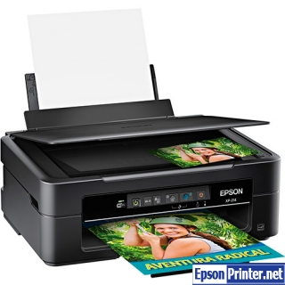 How to reset Epson XP-214 printer
