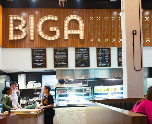 photo of the inside of BIGA