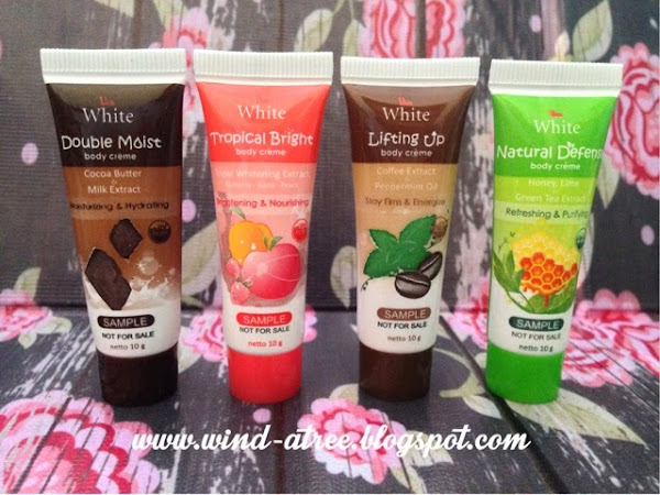 [First Impression] Viva White Body Creme
