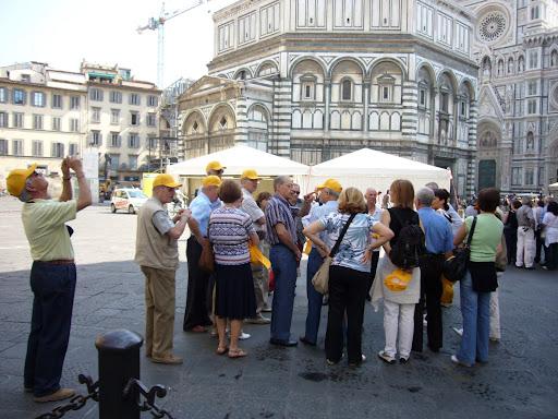 Yellow hat brigade.