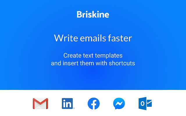 Briskine: Email templates for Gmail