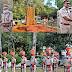 पुलिस आयुक्त के०के०राव के पिता सहित पुलिस स्मृति दिवस पर शहीदों के परिजनों को किया सम्मानित व पुलिस लाइन गुरुग्राम में स्मृति परेड का आयोजन