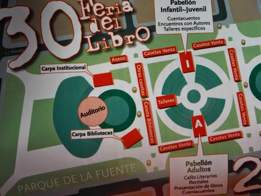 La Feria del Libro de Fuenlabrada cumple 30 años.Se celebrará del 23 al 31 de mayo en el Parque de la Fuente