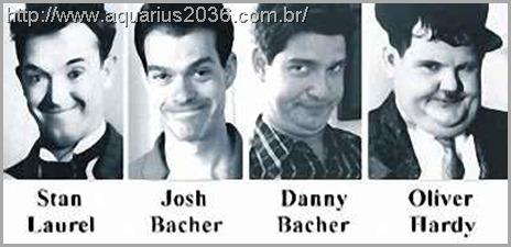 As reencarnações de Laurel e Hardy Josh & Danny Bacher