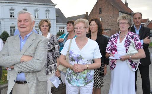 10/09/2011 Haaltert - De Walput - Inhuldiging nieuw kunstwerk van Kunstenaar Dirk De Keyzer