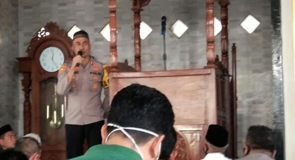 Tampil di Hadapan Jamaah Masjid Takwa Kalenrunge, Kapolres Soppeng Harapkan Dukungan dan Ingatkan Hal Ini