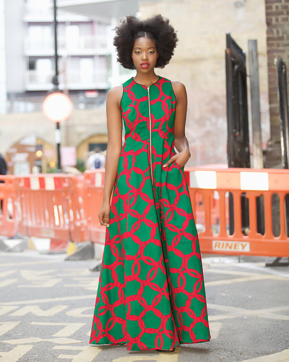 African Prom Print Dresses Styles For Summer 3