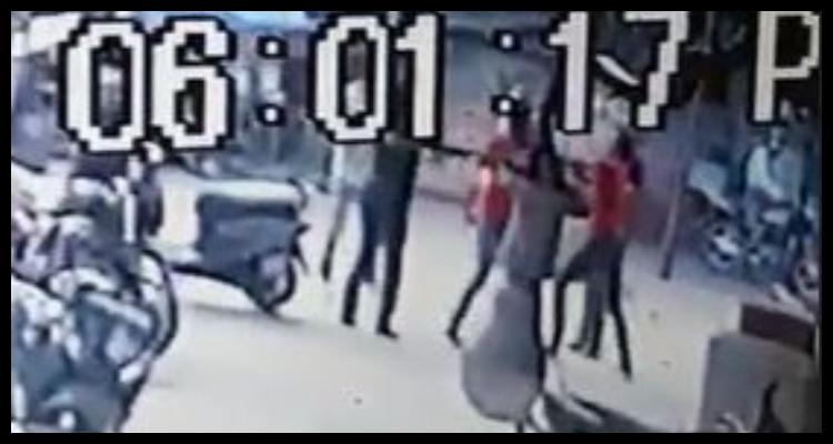 रघुवर दास के भतीजे की गुंडागर्दी, CCTV में कैद हुई तस्वीरें, कमलेश साहु पर मामला दर्ज