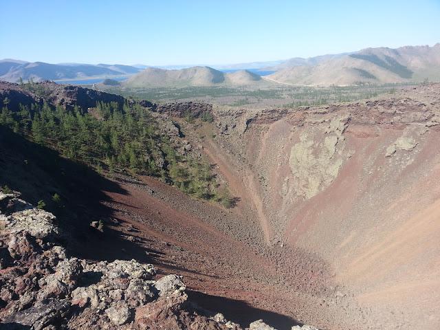 Khorgo Uul vulkaan.