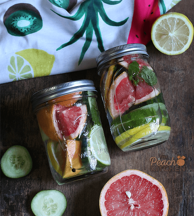 Grapefruit, Lemon, and Lime Detox Water