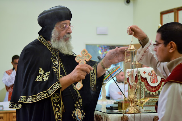 His Holiness Pope Tawadros II visit to St. Mark LA - DSC_0206.JPG