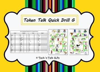Token Talk Quick Drill G Image