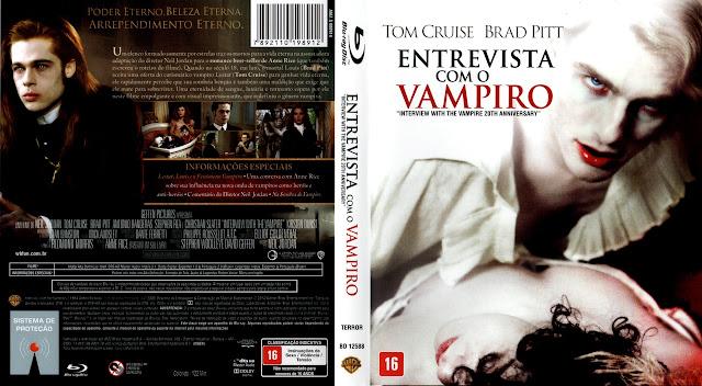 Capa Bluray Entrevista Com O Vampiro