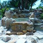 Rock waterfall repairs
