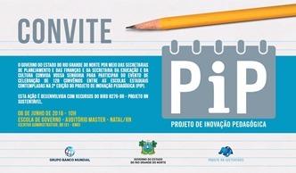 Pip convite 2 edição