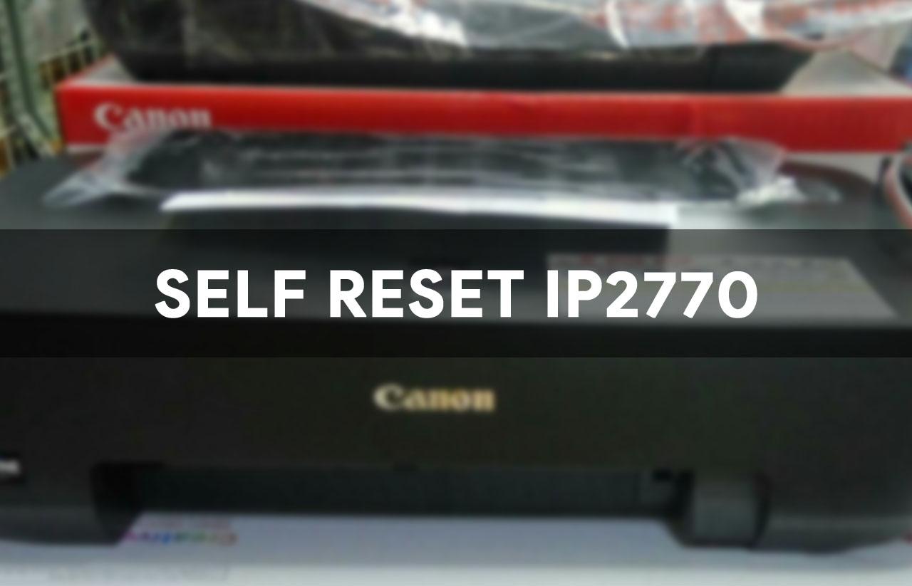 Cara test printer canon ip2770 tanpa komputer