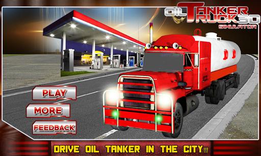 Oil Tanker Truck Transporter