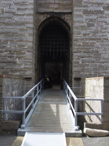 Portcullis and Drawbridge