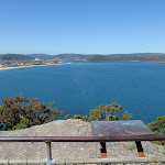 Looking up the Brisbane water from Mt Ettalong (221222)