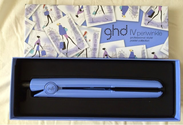 GHD, periwinkle, limited edition, limited edition ghd, pastel