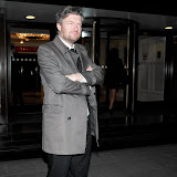 WWW.ENTSIMAGES.COM -   Charlie Brooker  at     RTS Programme Awards  Grosvenor House Hotel Park Lane London March 19th 2013                                                  Photo Mobis Photos/OIC 0203 174 1069
