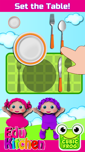 Toddler Kitchen Food Cooking Games-EduKitchen Girl 7.24 screenshots 4