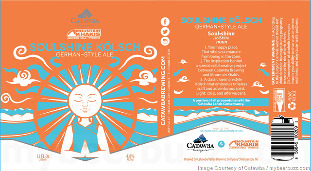 Catawba Brewing & Mountain Khakis Collaborate On Soulshine Kölsch