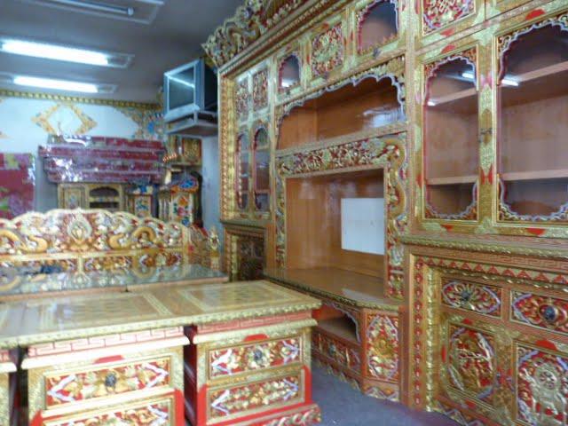 mobilier Tibétain