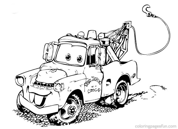 Cars  Coloring Pages Disney To Print Maa