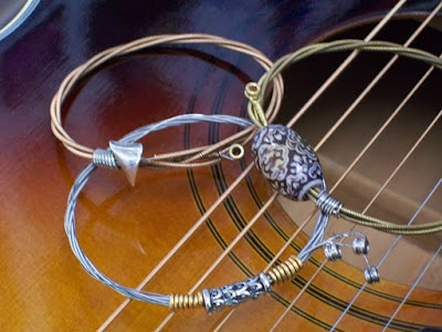 Guitar String Jewelry by Nashville Restrung