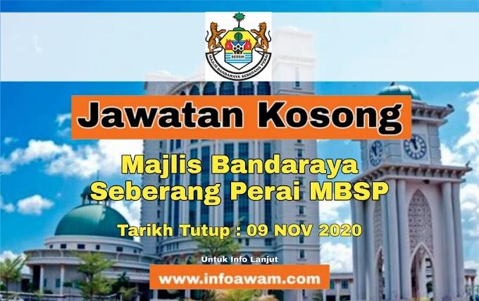 Jawatan Kosong Terkini Di Majlis Bandaraya Seberang Perai MBSP