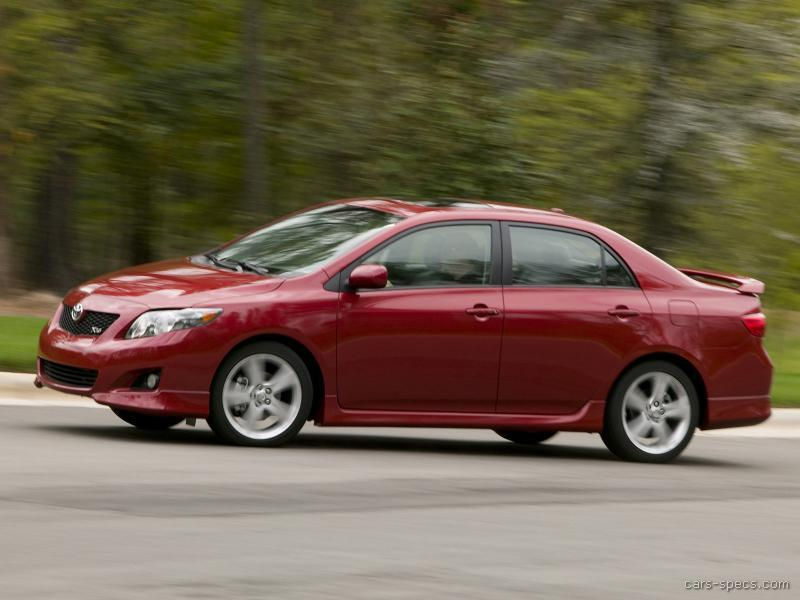 2010 toyota corolla sedan specifications pictures prices. Black Bedroom Furniture Sets. Home Design Ideas