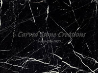 Nero Marquina Polished Marble Sample