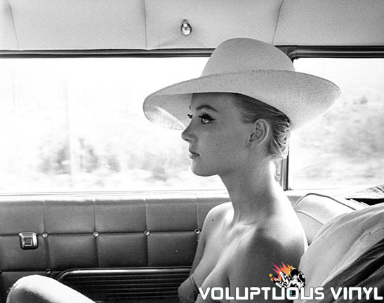 Barbara Bouchet Big Hat, Bikini, In Car