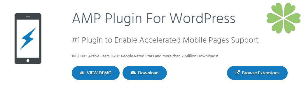 #1 AMP Plugin: AMP for WP – Accelerated Mobile Pages