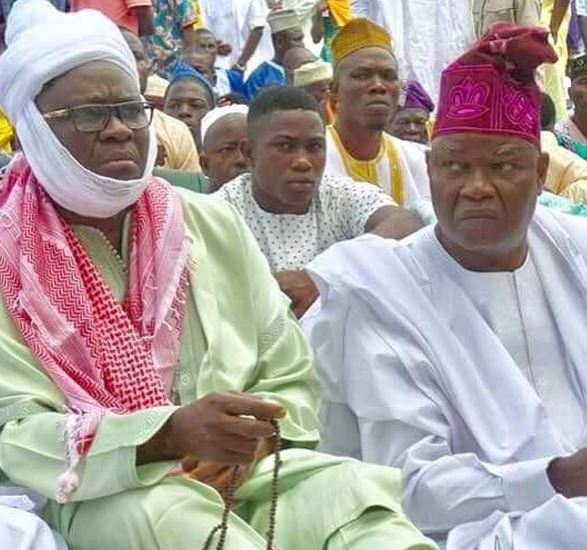 'Fayose Committed A Sin By Wearing Islamic Regalia To The Eid Ground' – Islamic Cleric Reveals