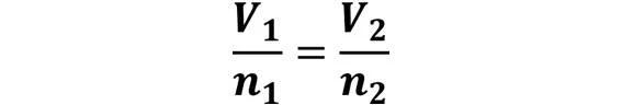 Las leyes de los gases: de boyle, de Charles, de Gay Lussac, de Avogadro y de Dalton - Fórmula general de la ley de Avogadro - sdce.es - sitio de consulta escolar