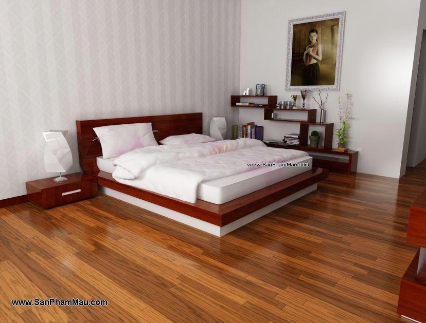 Sản xuất giường ngủ gỗ công nghiệp