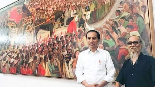 Presiden Jokowi dan Petruk Dadi Ratu
