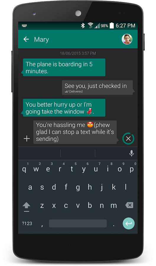 Textra SMS - screenshot