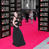 WWW.ENTSIMAGES.COM -  Myleen Klass   at      The Olivier Awards at Royal Opera House, Covent Garden, London, April 28th 2013                                               Photo Mobis Photos/OIC 0203 174 1069