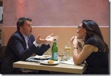 Matteo Renzi e Valeria Valente