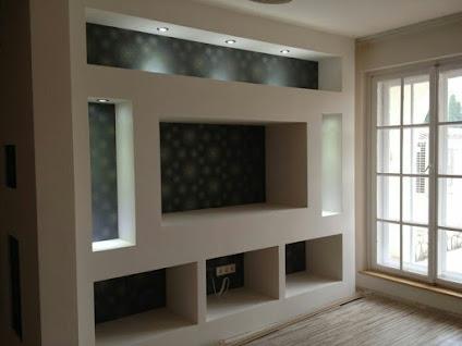 Dise os tablaroca centro entretenimiento for Disenos de interiores en tablaroca