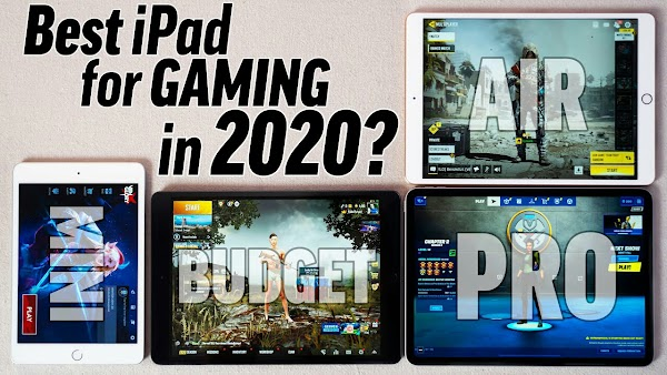 4  Best Ipad or Tablets For Gaming as well as Streaming |Best For Playing Games.